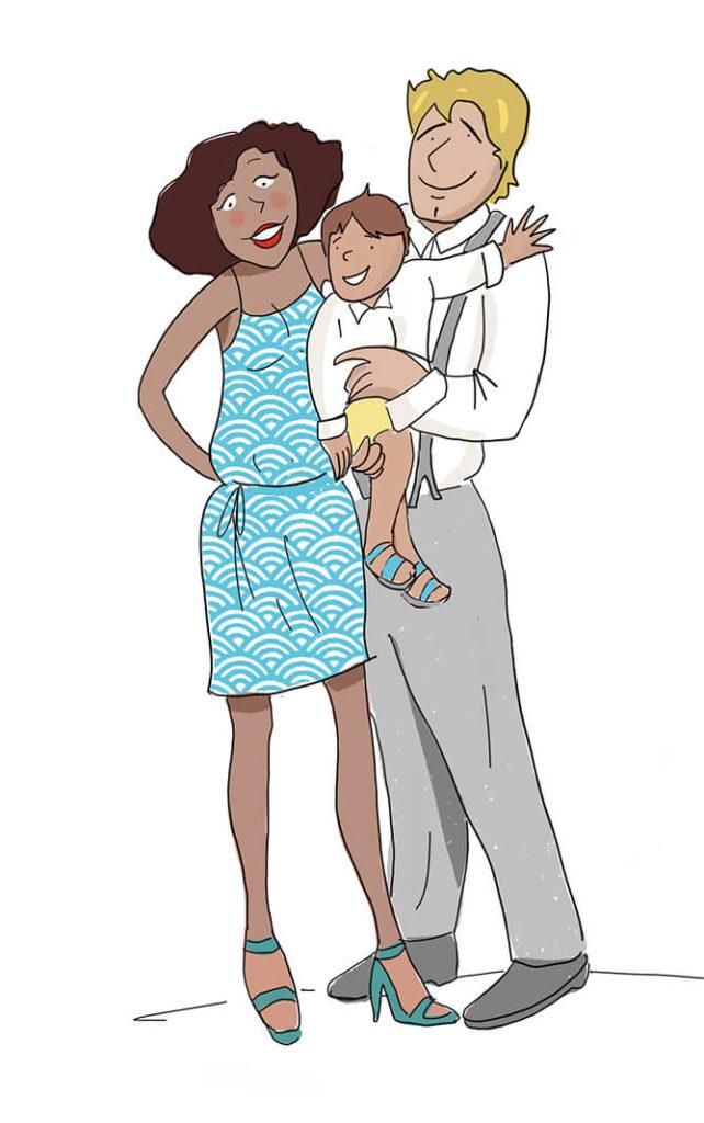 la famille - babysitting reunion